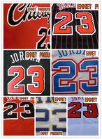 Free shipping Wholesale High quality Embroidery logos Chicago #23 Jordan Basketball jersey ncaa throwback jerseys mix orders