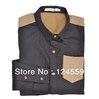 Free shipping 2013 new fashionable men's shirts men casual shirt jacket