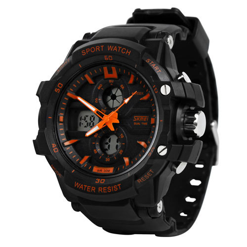 creative Mens Watches boy led multi - functional sports watch waterproof electronic watch fashion students watches(China (Mainland))