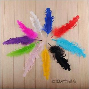 DIY feather handmade arts woolpack Fashion bridal jewelry accessories 10pcs/lot free shipping(China (Mainland))