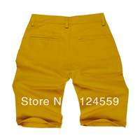 The new men's shorts yellow shorts fashion men's trousers, free shipping