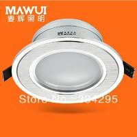 2.5' led downlight 4w full set of energy saving lamps 8cm living room ceiling downlight 7005