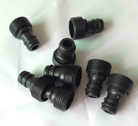 1000pcs/lot NEW garden water hose quick connector male to 3/4  internal tap  3/4 Male