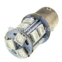 BAY15D P21/5W  Super Red 1157 13-SMD Blinker Corner Side Marker LED Parking Light  Bulbs 7528 2357 Warning Lights