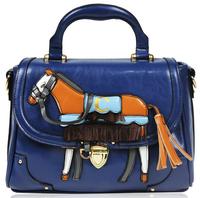 Free Shipping hot women's PU leather  designer handbag shoulder bag messenger bag lapalette pistol bag Korea horse bags design