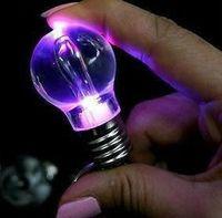 Free shipping Wholesale Genuine 2GB 4GB 8GB 16GB 32GB Lamp bulb shape 2.0 Memory Stick Flash Pen Drive With LED light , USB188T1