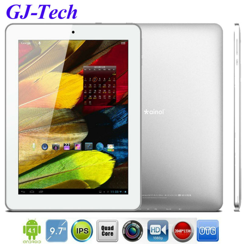 9.7&#39;&#39; inch novo9 firewire spark tablet pc retina IPS hd touch screen HDMI allwinner A31 quad core dual camera 2GB 16GB pad mid(China (Mainland))
