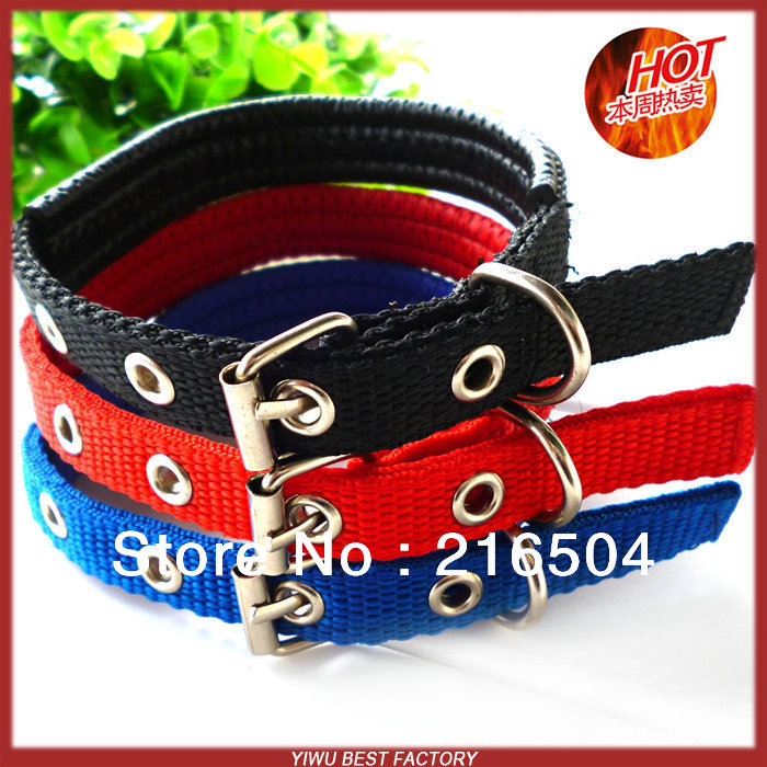 Free shipping Pet dog polypropylene foam collars 15pcs/lot Dog Cat Soft lining collar 3 sizes 3 colors Wholesale supplier(China (Mainland))