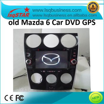 old Mazda 6 Car DVD Player with GPS Navigation Radio bluetooth ipod steering wheel control usb sd slot...