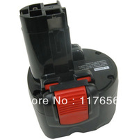 9.6v 1500mAh Replacement Power Tool Battery for Bosch BAT048, BAT 048,BPT1041, 2-pack