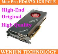 High Quality 100% Original for Mac Pro ATI Radeon HD 6870 1GB PCI-E Video Card macpro high -end graphic card