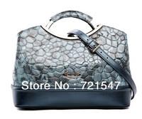 The new 2013 Elegant lady handbag,High quality Famous Brand genuine leathe  shoulder bag