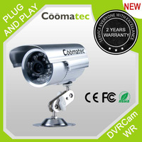 Factory Direct Sale Coomatec DVRCam W/R Waterproof outdoor SD Card DVR CCTV surveillance camera all-in-one built in TF card