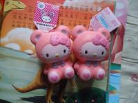 10pcs sanrio cinnamoroll & pink panda & long ear rabbit squishy