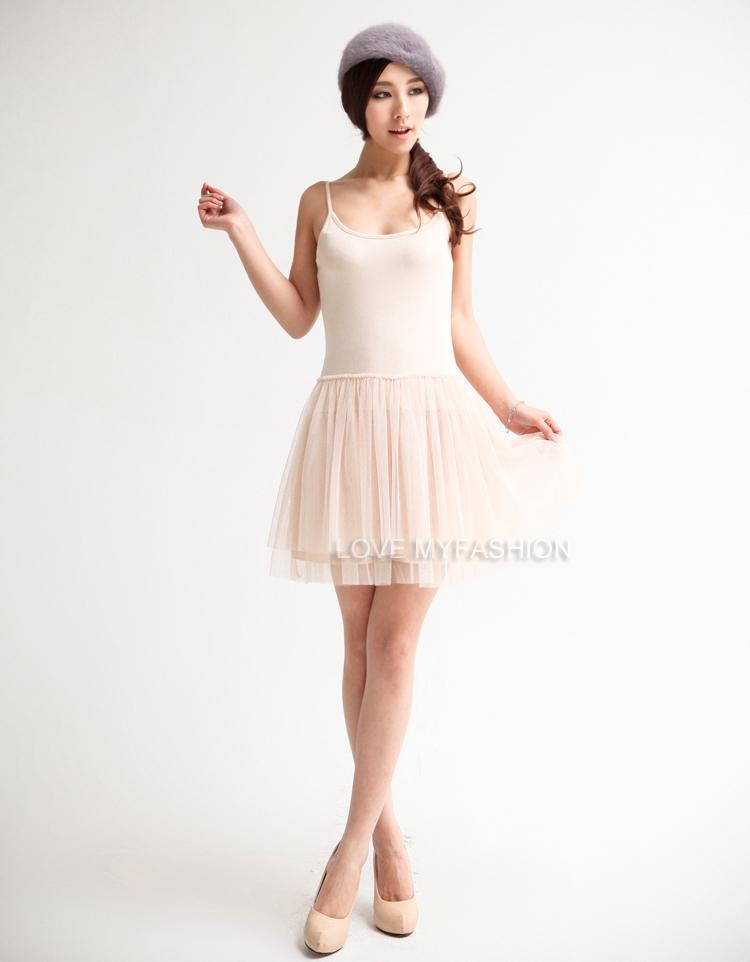 New women s lady girl korean style sexy lace mesh dresses ball grwn