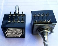 1pc Alps 100KAX2 LOG Type Volume Potentiometer 8PIN with Loudness + Free shipping