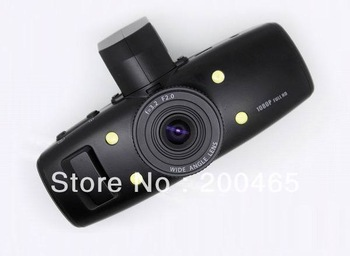 GS1000 Ambarella Full HD 1080P GPS  G-sensor  h 264 120 degree angle 5MP CMOS car camera black box