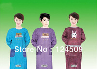 Factory direct kitchen gowns, apron with sleeves-18 colours