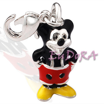 Min.order $15 5pcs silver charms European charms fit bracelet the cute Cute Mouse animals charms  2013 fashion bijouterie T403