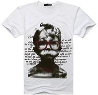 Upset mad awarded the 2013 men's summer Korean new fashion men T new wholesale bottoming shirt short-sleeved t-shirt