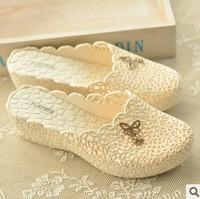 bird nest sandals butterfly cutout wedges sandals rain boots beach slippers platform toe cap covering women's shoes
