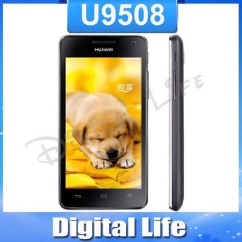 "Unlocked ROOT Android 4.0 huawei Honor 2 U9508 Quad Core 2G RAM 1.4GHz CPU 4.5"" IPS screen GPS 3G Mobile smartphone cell phone"
