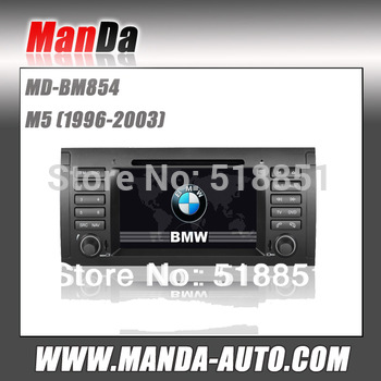 Touch Sreen 2 din Car DVD Multimedia System GPS  Navi USB SD Slot for bmw M5 (1996-2003)