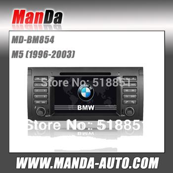 Touch Sreen 2 din Car DVD Multimedia System for bmw M5 (1996-2003) GPS  Navi USB SD Slot
