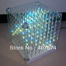 3d led cube promotion
