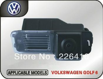 Volkswagen golf car dedicated spader 6 back CCD high-definition night vision camera