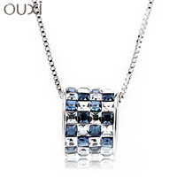 crystal necklace accessories transhipped necklace 10019 free shipping made with swarovski elements