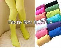 Free shipping 0-2years baby candy color panty-hose velutum pantynose leggings /leg warmers baby stocking  12pairs/dozen