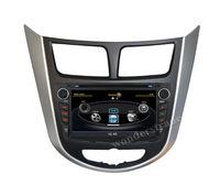 """7"""" Car DVD Player autoradio GPS  for  Verna Solaris 2010 - 2013  3G WIFI + V-20 Disc + 1GB cpu + DDR 512M RAM + DVR + A8 Chipset"""