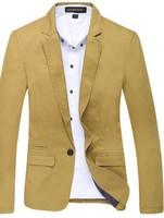 Spring 2013 men's clothing blazer male slim blazer