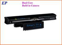 Newest  Build in Camera Google TV Smart Mini V3 Android 4.2 TV Box 1GB/8GB Dual core 1.6Ghz RK3066 HDMI camera MIC
