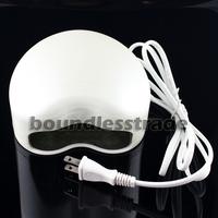 Free Shipping 220V EU Plug 3W LED Lamp Soak-off Gel Polish Nail Cure UV Dryer Heart-shaped_KD171W(220V)