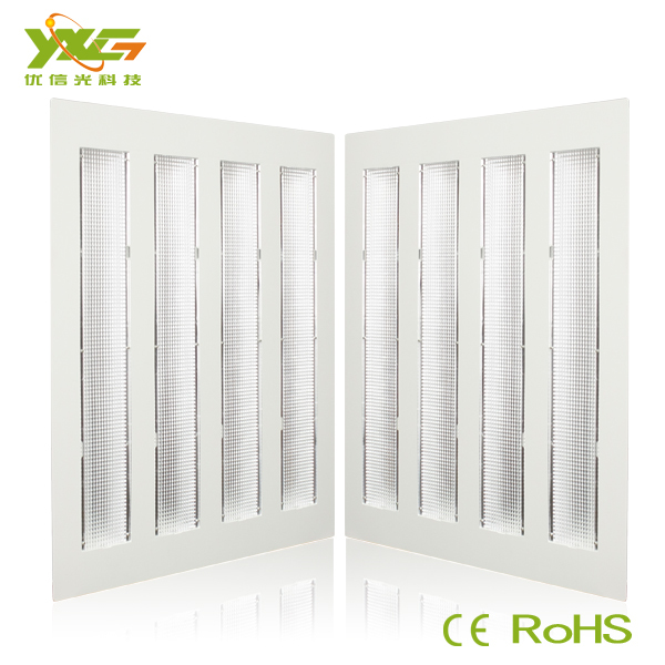 Free shipping(10pcs/lot), High quality 24w led panel light, 2400lm, 85-265v, energy saving led grille light(China (Mainland))