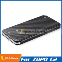 High Quality Original Zopo C2 Case Leather Flip Case and for Zopo zp980 Flip Case