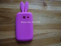 For Samsung Galaxy Y Duos S6102 case Rabbit silicone Case cartoon case,1pcs/lot