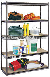 Slotted Steel Angle Shelving