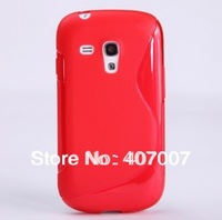200pcs/lot S Line TPU Case for Samsung Galaxy S3 mini I8190, for S3 mini TPU Case Defender Gel Cover