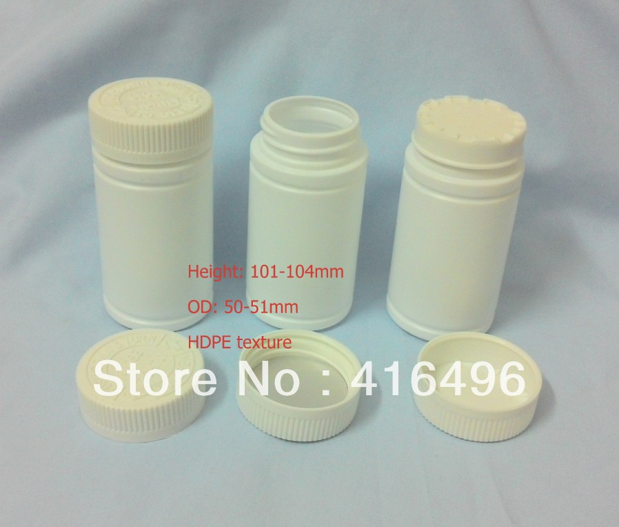 Plastic bottle for medical&food manufactures,HDPE based,mini container for small size packages food grader GMP compliance(China (Mainland))