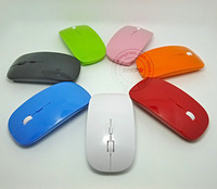 Super Slim 2.4G USB Optical Wireless Mouse, Nano USB Transceiver Wireless Optical Mice, Without Retail Packing