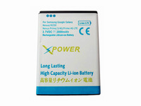 100pcs/lot High capacity 2000mah replacement battery for Samsung i9250 Galaxy Nexus Prime batteria batteries