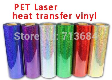 South Korea PET Laser heat transfer vinyl heat press film(China (Mainland))