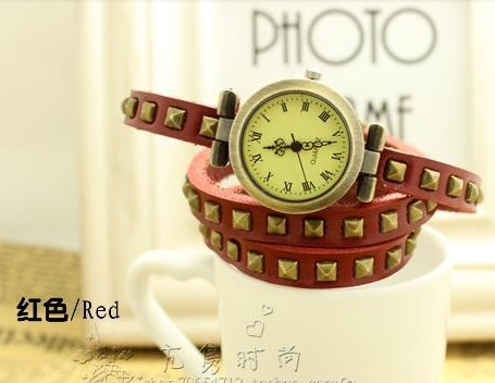 Free shipping Promotion!Cow leather watches,women watches,High quality ROMA watch header,hotting sale in whole world(China (Mainland))