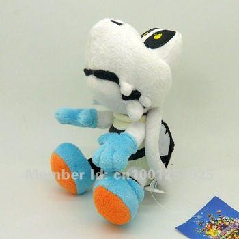 "Free Shipping EMS 50/Lot New Super Mario Bros. Dry Bones Plush Doll Stuffed Toy 9"" Wholesale"