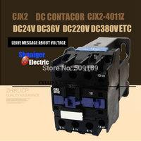 DC Operated AC Contactor LP1 CJX2-4011Z CJX2(LP1)    Operated AC Contactor DC220V DC110V DC24V