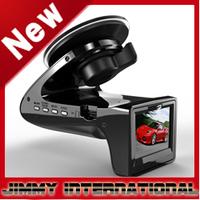 Free shipping Car DVR with Radar Detector/E-Dog + HD 720P + H.264 + G-Sensor + Russian Language + Wide Angle 120 Degrees