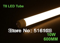 DHL/Fedex free 25pcs/lot 10W LED tube T8 600mm SMD2835 AC85-265v CE&RoHS 3 years warranty factory wholesale